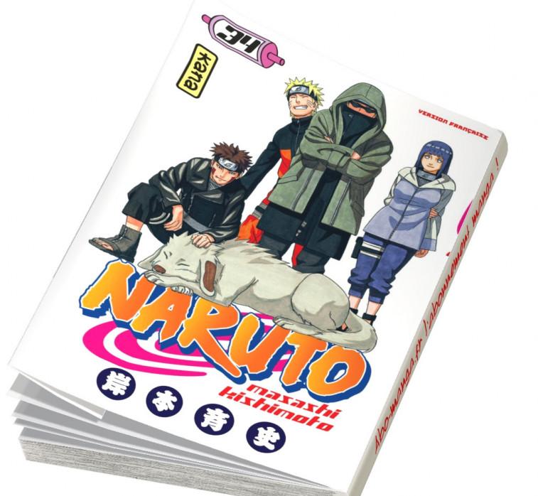 Abonnement Naruto tome 34