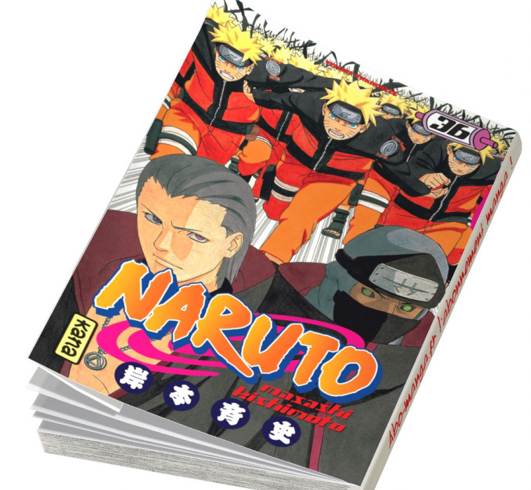 Abonnement Naruto tome 36