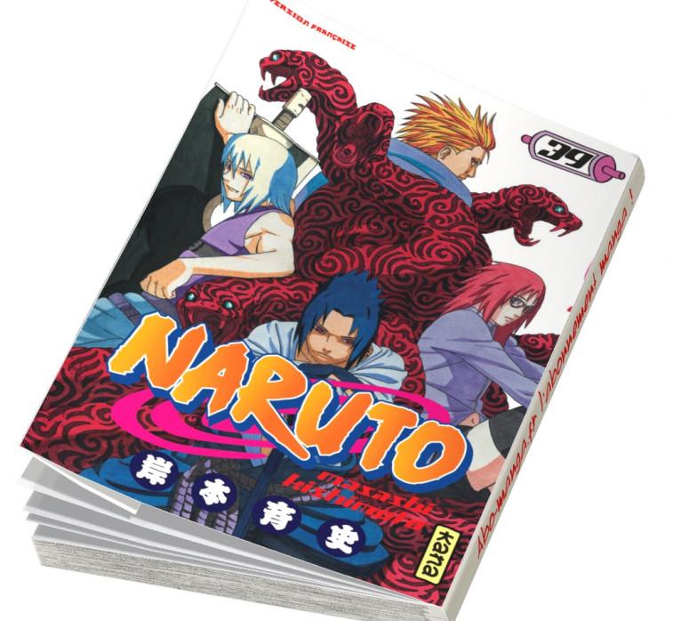Abonnement Naruto tome 39