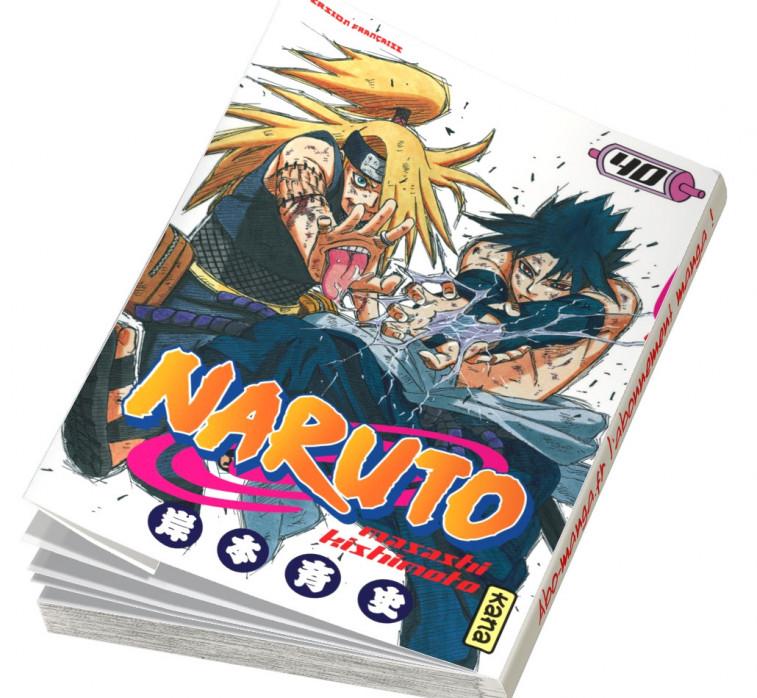 Abonnement Naruto tome 40