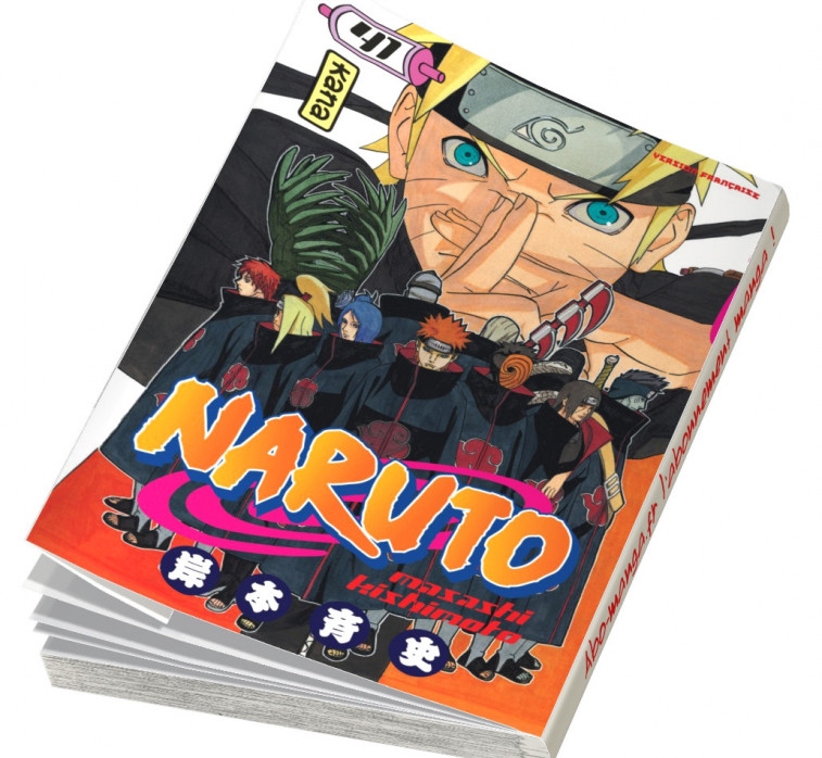 Abonnement Naruto tome 41