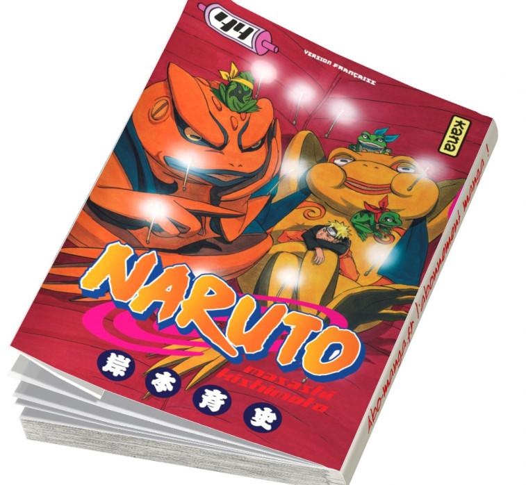 Abonnement Naruto tome 44