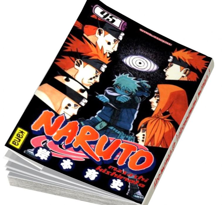 Abonnement Naruto tome 45