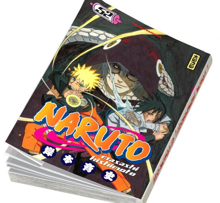 Abonnement Naruto tome 52