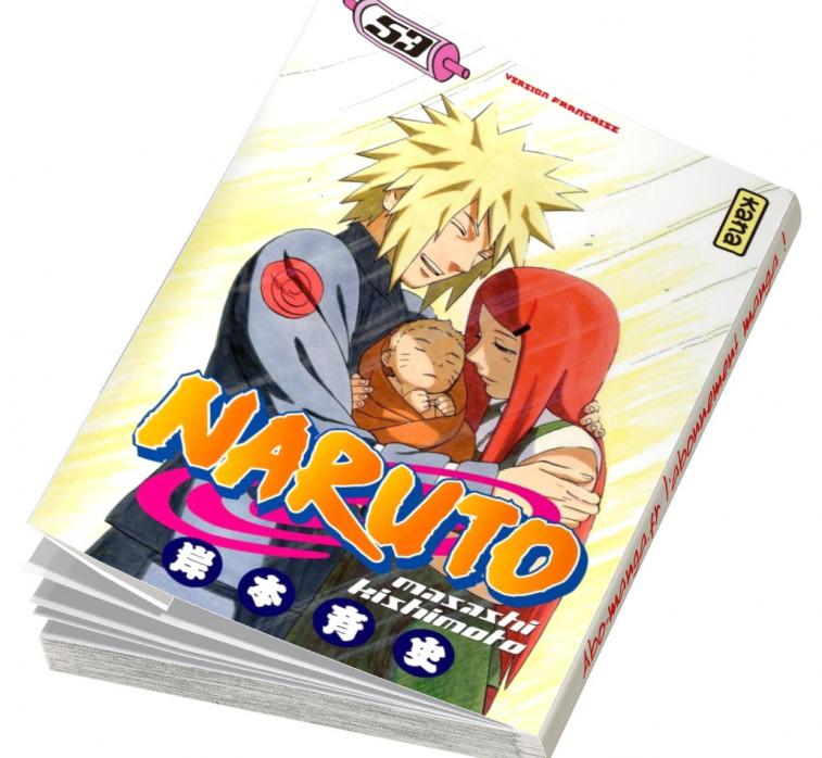 Abonnement Naruto tome 53