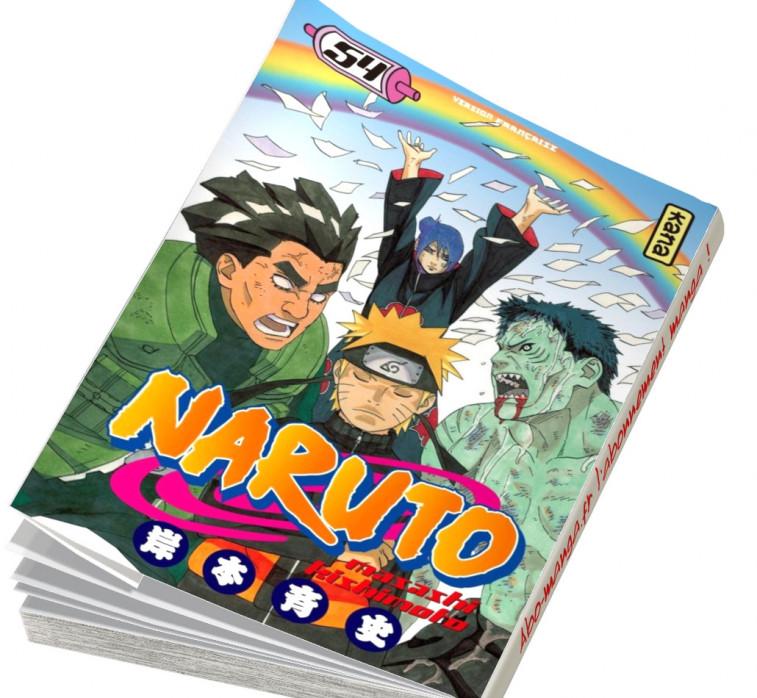 Abonnement Naruto tome 54