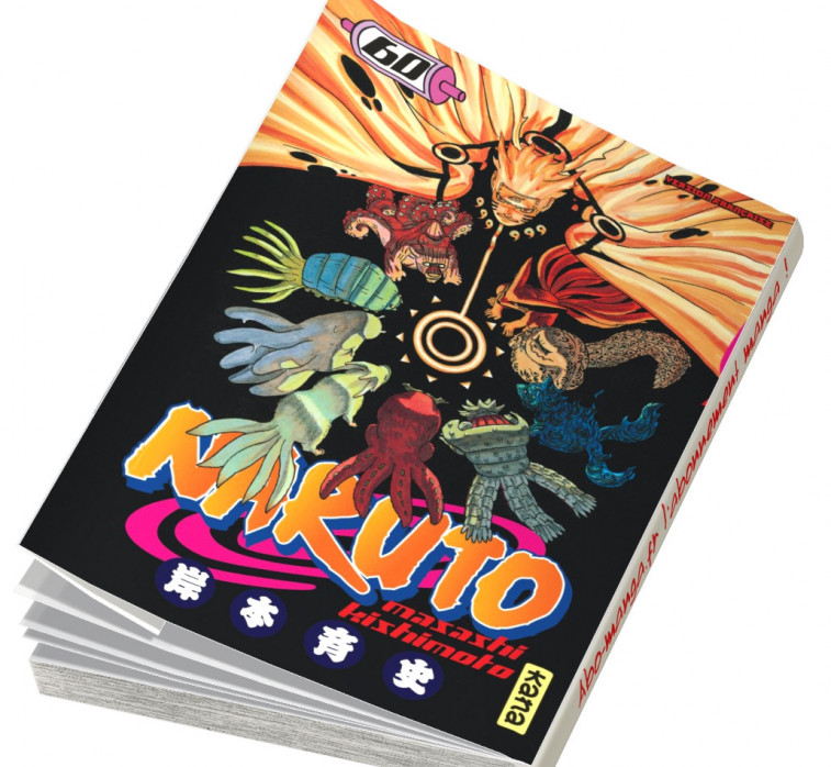 Abonnement Naruto tome 60