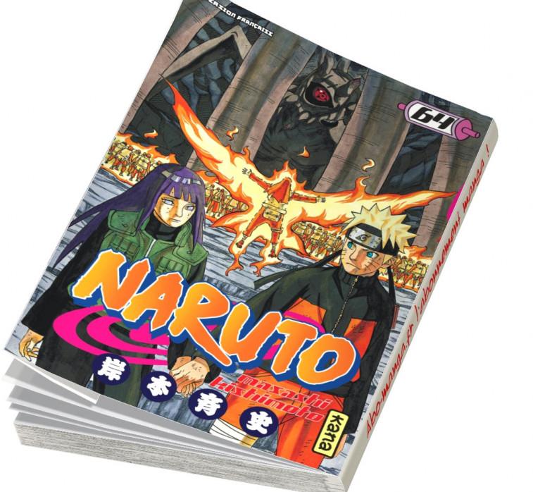 Abonnement Naruto tome 64
