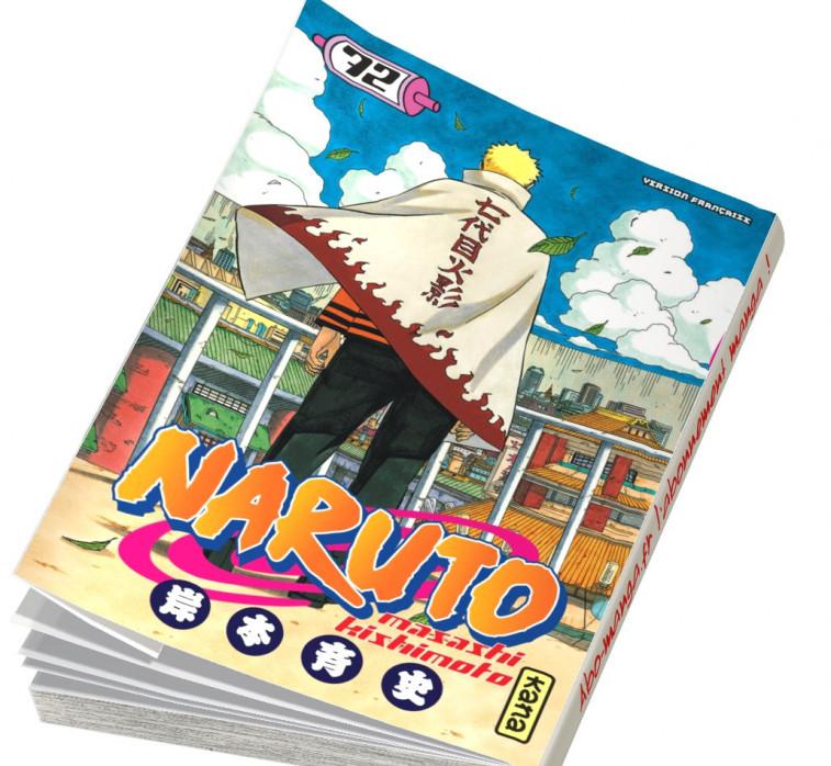 Abonnement Naruto tome 72