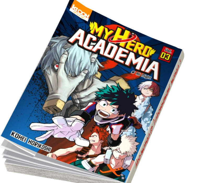 Manga my hero academia 3