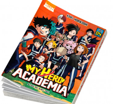 My Hero Academia My Hero Academia T04