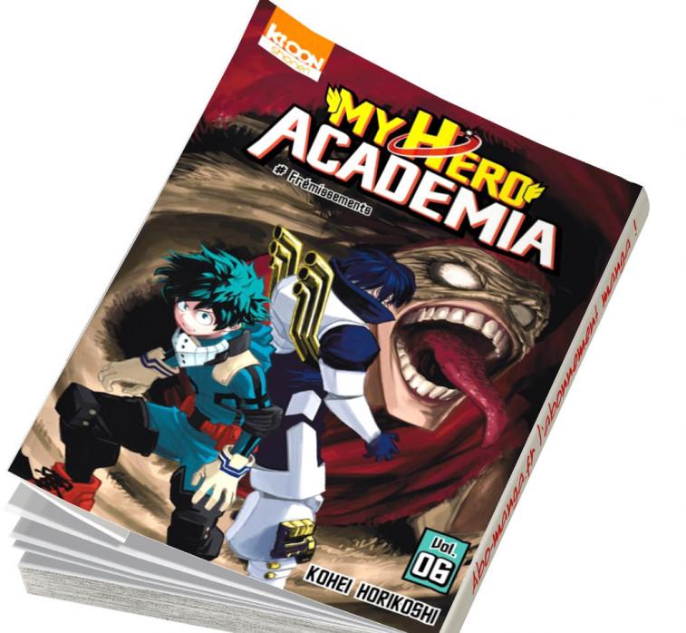 abonnement manga My Hero Academia tome 6