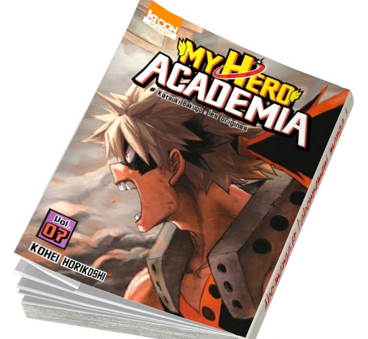 abonnement manga My Hero Academia 7