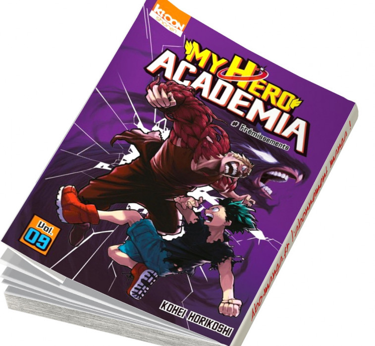 abonnement manga My Hero Academia