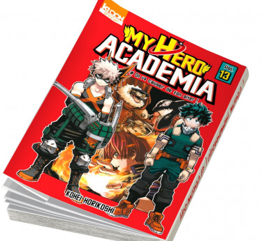 My Hero Academia abonnement manga My Hero Academia