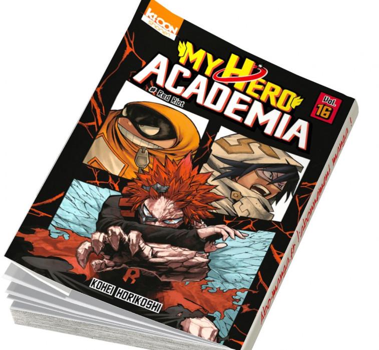 abonnement manga My Hero Academia