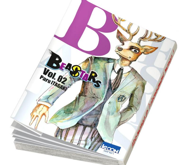 Beastars 2 en abonnement manga