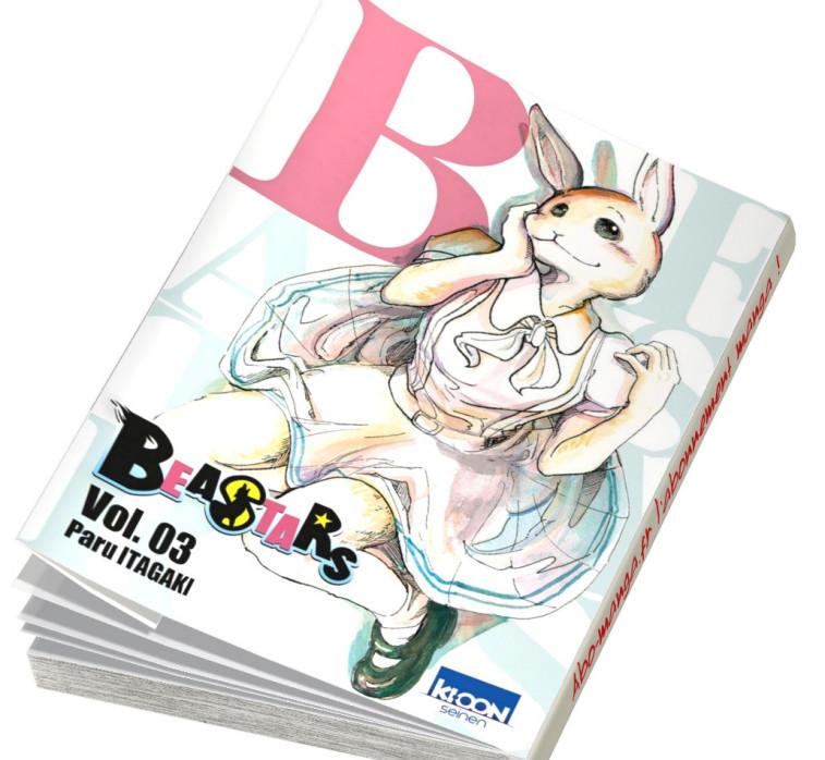 Beastars tome 3 en abonnement manga