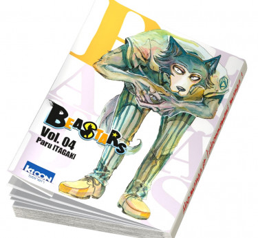 BEASTARS Beastars en abonnement manga