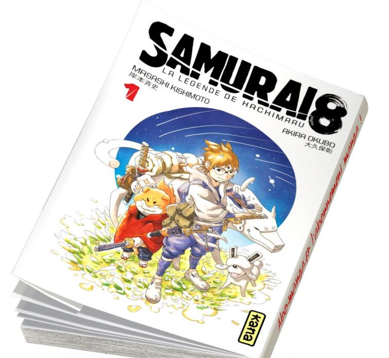 Abonnement Samurai 8 - La Légende de Hachimaru tome 1