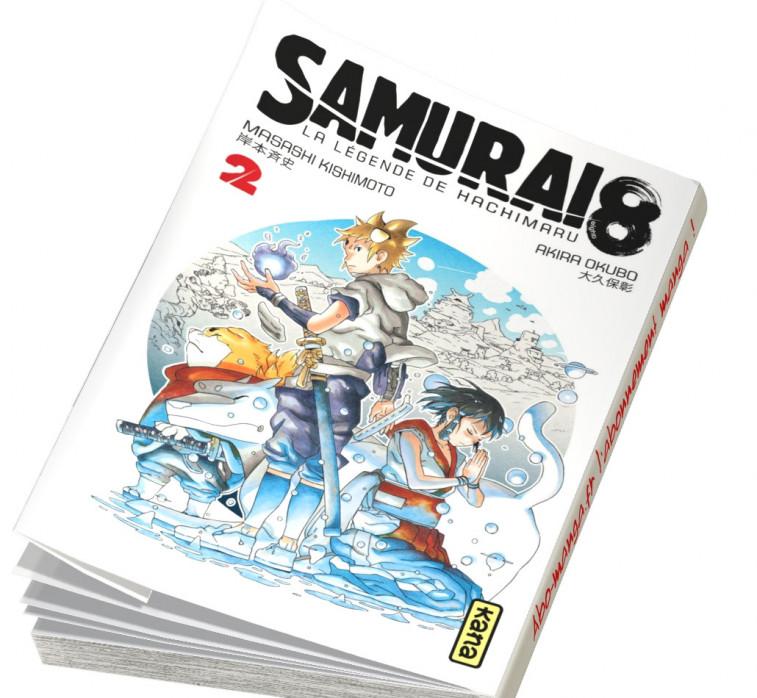Abonnement Samurai 8 - La Légende de Hachimaru tome 2