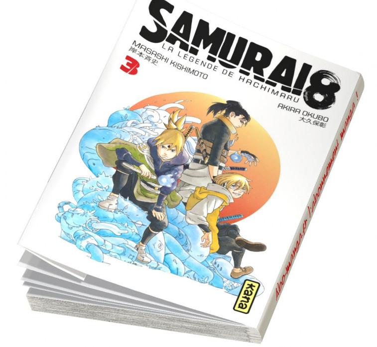 Abonnement Samurai 8 - La Légende de Hachimaru tome 3