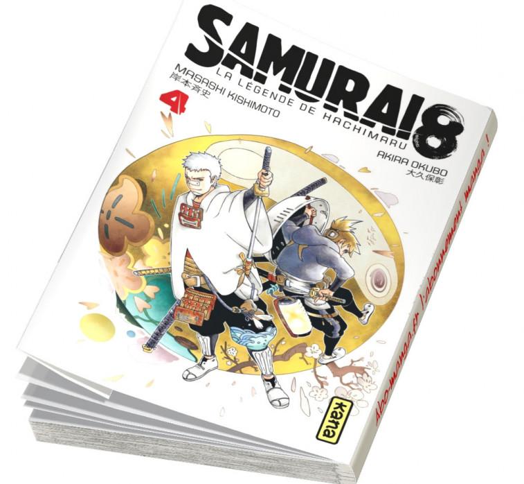 Abonnement Samurai 8 - La Légende de Hachimaru tome 4
