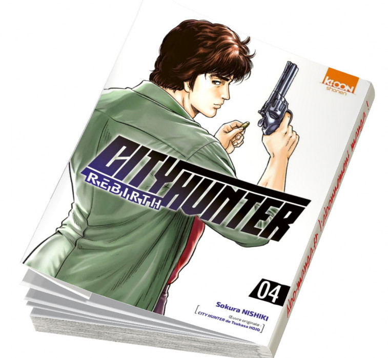 Abonnement City Hunter Rebirth tome 4