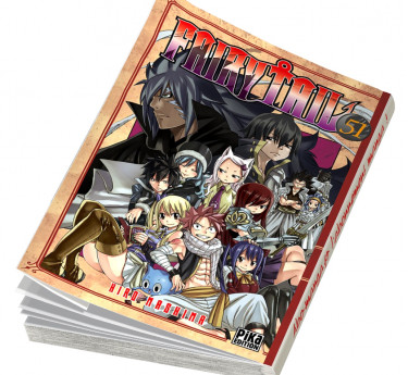Fairy tail Fairy Tail T51