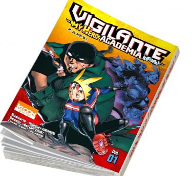 Vigilante - My hero academia Illegals Vigilante - My Hero Academia Illegals T01