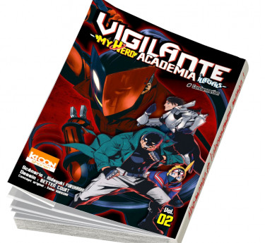 Vigilante - My hero academia Illegals Vigilante - My Hero Academia Illegals T02