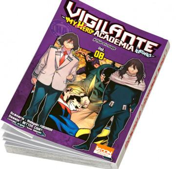Vigilante - My hero academia Illegals Vigilante - My Hero Academia Illegals T08
