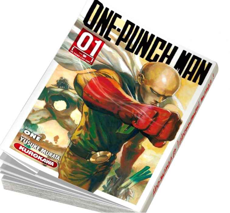 One-Punch Man T01
