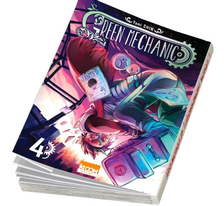 Abonnement Green Mechanic tome 4