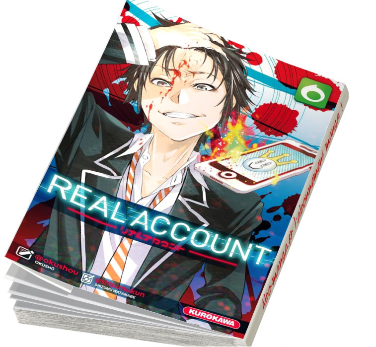 Abonnement Real Account tome 6