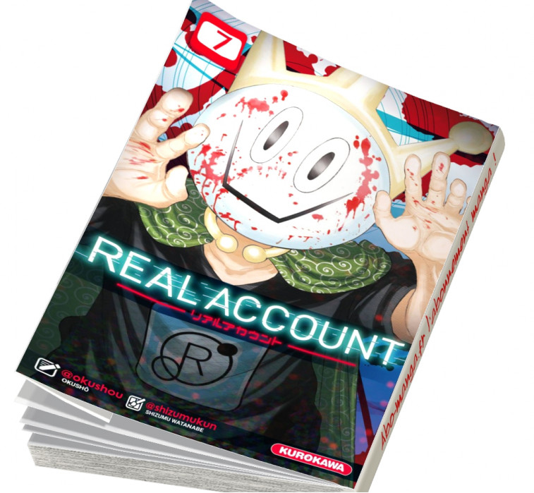 Abonnement Real Account tome 7