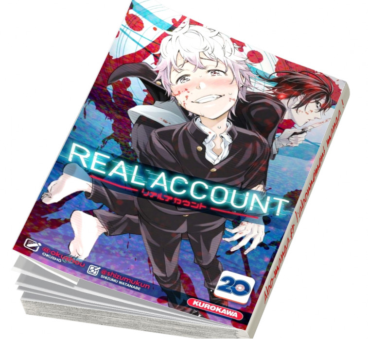 Abonnement Real Account tome 20