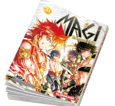 Magi - The Labyrinth of Magic Magi - The Labyrinth of Magic T34