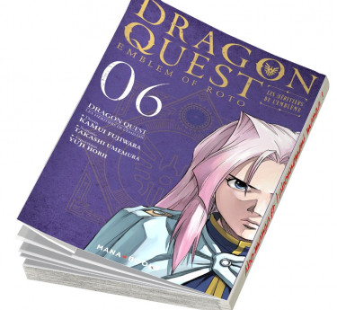 Dragon Quest - Les Héritiers de l'Emblème Dragon Quest - Les Héritiers de l'Emblème T06