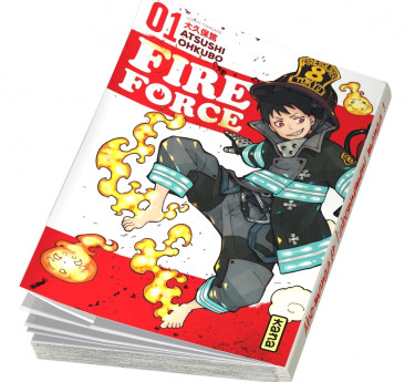 Fire Force Fire Force T01