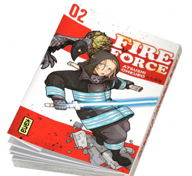 Fire Force Fire Force T02