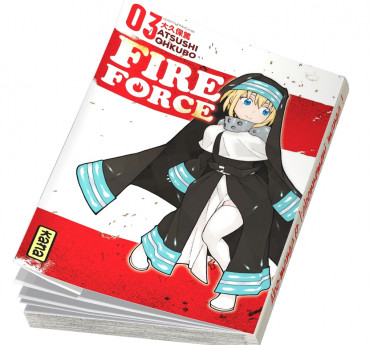 Fire Force Fire Force T03