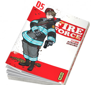 Fire Force Fire Force T05