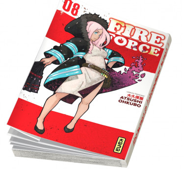 Fire Force Fire Force T08