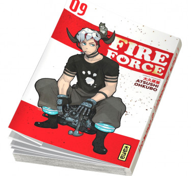 Fire Force Fire Force T09