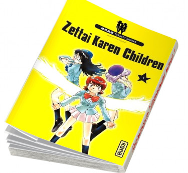 Zettai Karen Children Zettai Karen Children T01