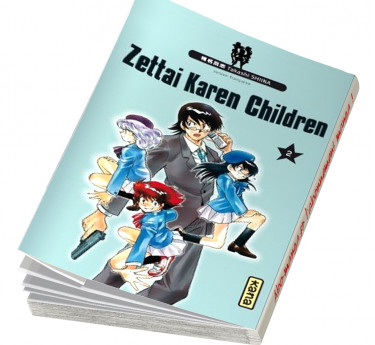 Zettai Karen Children Zettai Karen Children T02