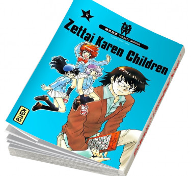 Zettai Karen Children Zettai Karen Children T11