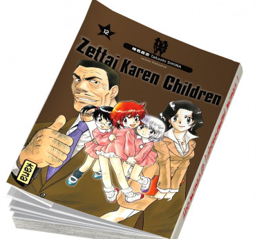 Zettai Karen Children Zettai Karen Children T12