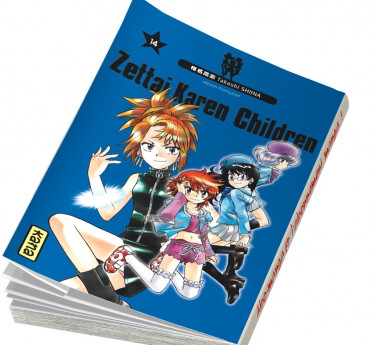 Zettai Karen Children Zettai Karen Children T14